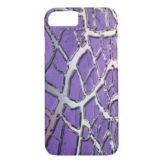 Lavender Metallic Mud iPhone 7 Case