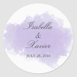 Lavender Mist | Wedding Favor Sticker