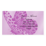 Lavender Monarch Butterfly Business Card