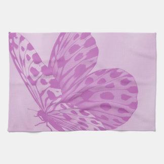 Lavender Monarch Butterfly Kitchen Towel