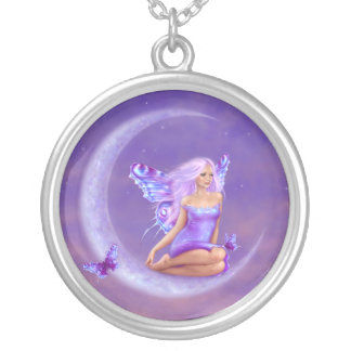 Lavender Moon Fairy Necklace