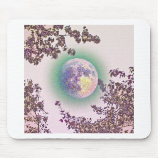 Lavender Moon Mouse Pad