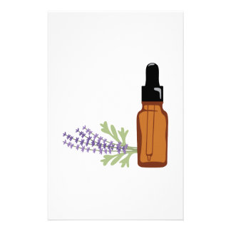 Lavender Oil Stationery