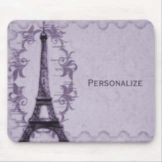 Lavender Paris Grunge Mousepad