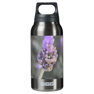 Lavender Photograph Soft and Pretty Insulated Water Bottle