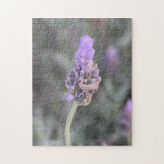 Lavender Photograph Soft and Pretty Jigsaw Puzzle