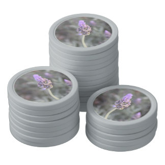 Lavender Photograph Soft and Pretty Poker Chips