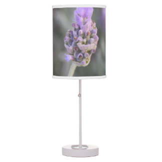 Lavender Photograph Soft and Pretty Table Lamp