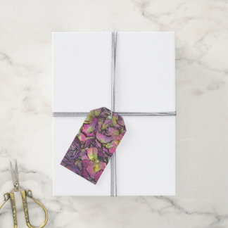 Lavender Pink Rose Petals Watercolor Pack Of Gift Tags
