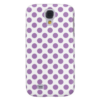 Lavender Polka Dots