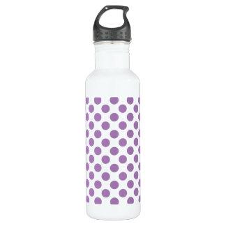 Lavender Polka Dots 710 Ml Water Bottle