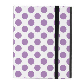 Lavender Polka Dots Cases For iPad