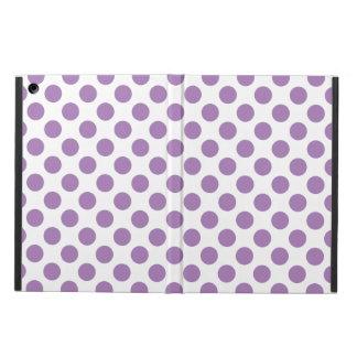 Lavender Polka Dots iPad Air Cover