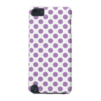 Lavender Polka Dots iPod Touch 5G Cover