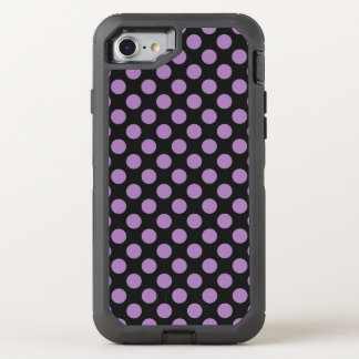 Lavender Polka Dots OtterBox Defender iPhone 8/7 Case