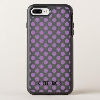Lavender Polka Dots OtterBox Symmetry iPhone 7 Plus Case
