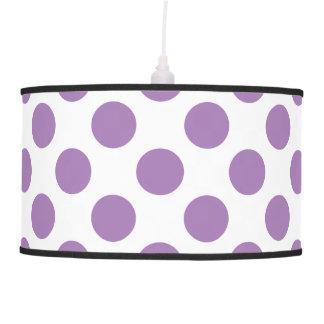 Lavender Polka Dots Pendant Lamp