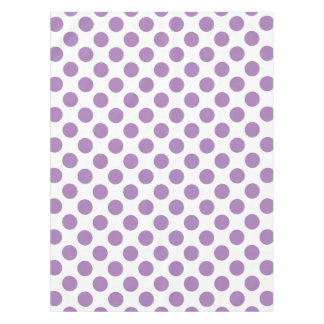 Lavender Polka Dots Tablecloth