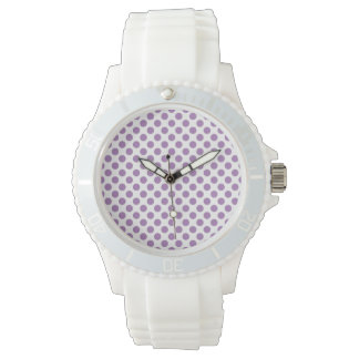 Lavender Polka Dots Watch