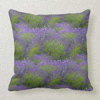 "Lavender Polyester TThrow Pillow 20"" x 20"""