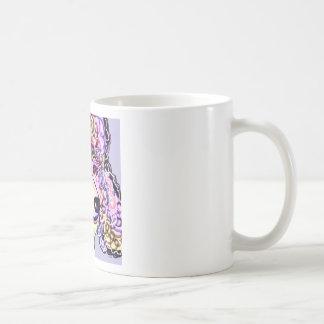 Lavender Poodle Coffee Mug