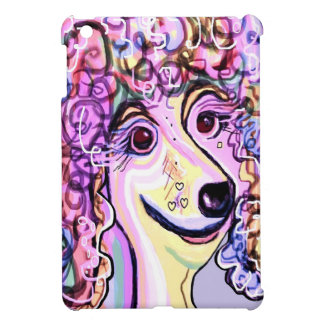 Lavender Poodle Cover For The iPad Mini