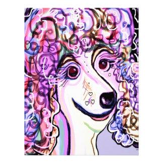 Lavender Poodle Letterhead