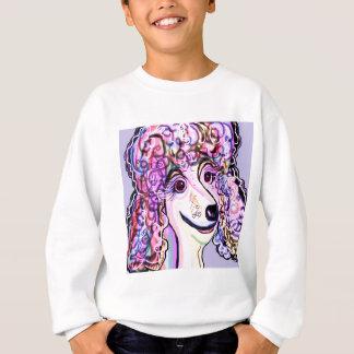 Lavender Poodle Sweatshirt