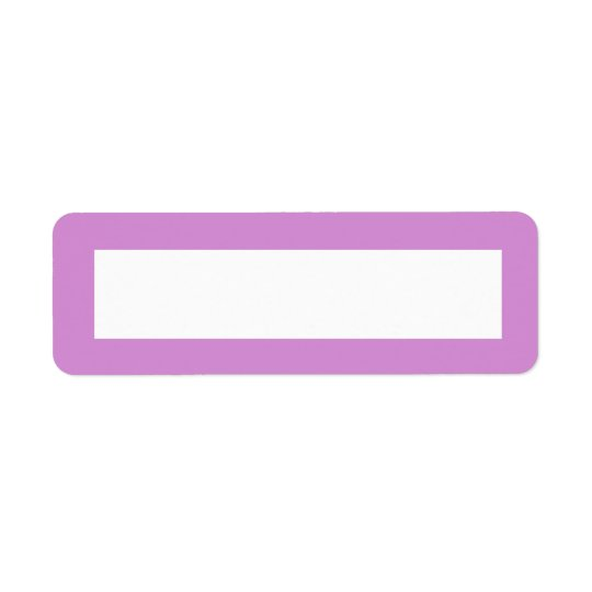 Lavender purple border blank