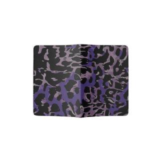 Lavender Purple Cheetah Abstract Passport Holder