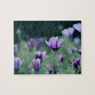 Lavender Purple Flowers Puzzle