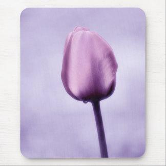 Lavender Purple Tulip Romance Mouse Pad