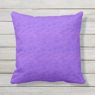 Lavender Purple Wash Throw Pillow