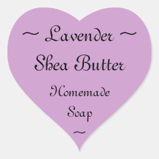 Lavender Shea Butter Soap Label