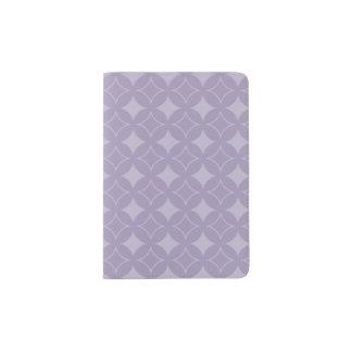 Lavender shippo pattern passport holder