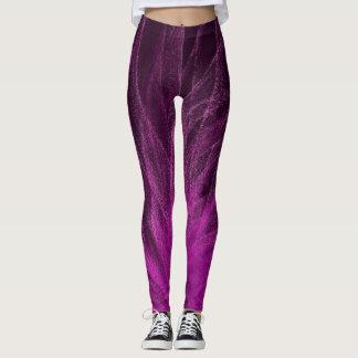 Lavender Spiral3 - Leggings