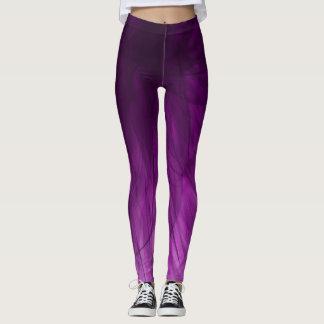 Lavender Spiral - Leggings