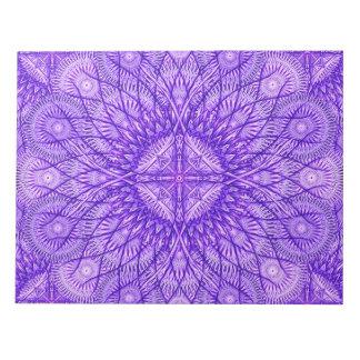 Lavender Star Mandala Notepads