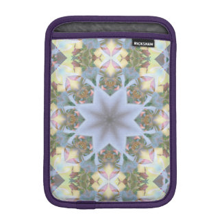 Lavender Starburst Rickshaw iPad Mini Sleeve