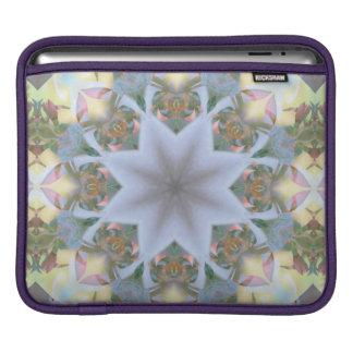 Lavender Starburst Rickshaw iPad Sleeve