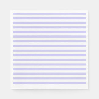 Lavender Striped Disposable Napkin
