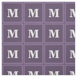 Lavender stripes fabric