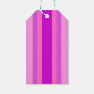 Lavender Stripes Pack Of Gift Tags
