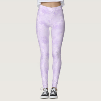 Lavender, Subtle, Light Purple, Elegant, Pale Leggings