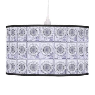 Lavender Sunflower Pendant Lamp