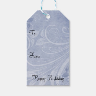 Lavender Swirls Pack Of Gift Tags