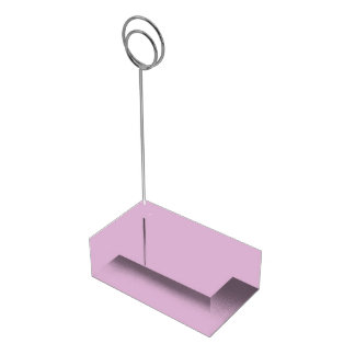 Lavender Table Card Holder