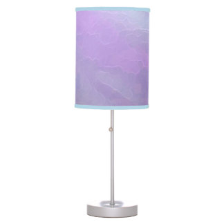 Lavender Tone Lampshade Table Lamp