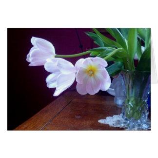 Lavender Tulip Note Card