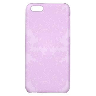 Lavender Violet Damask i iPhone 5C Cover